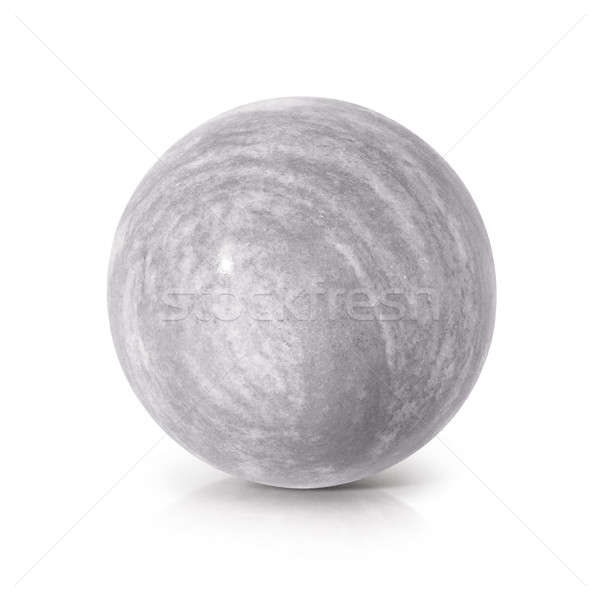 Cement ball 3D illustration Stock photo © 7Crafts