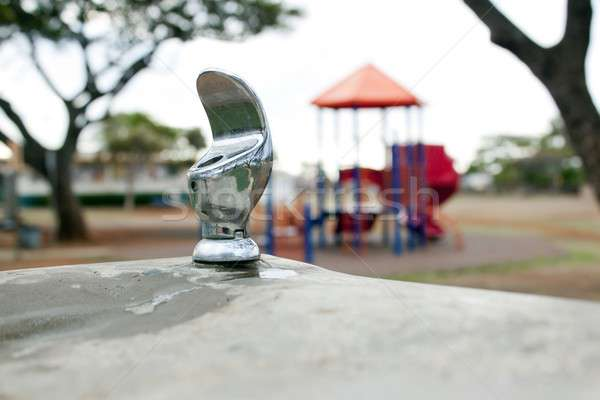 water fountain at a park Stock photo © 808isgreat