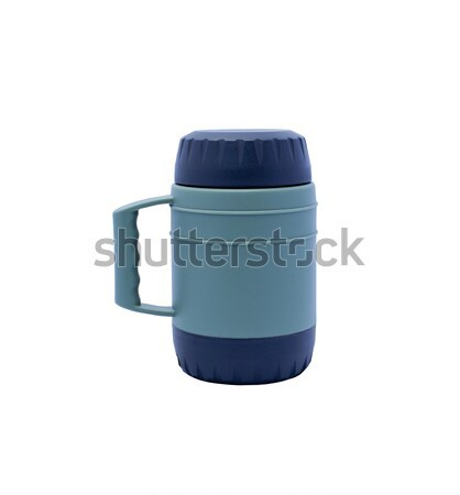 Thermos on a white background Stock photo © 808isgreat
