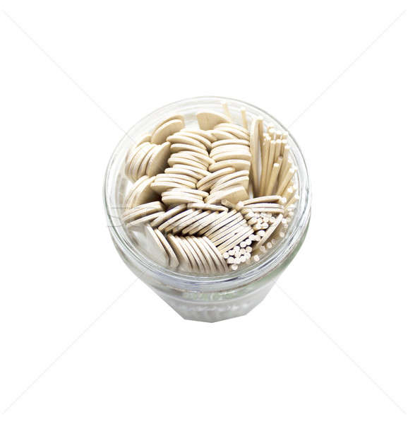 tongue depressors in a glass jar Stock photo © 808isgreat