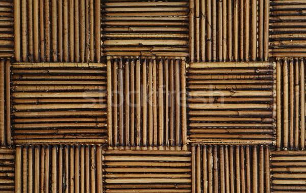 rattan in a weave pattern Stock photo © 808isgreat