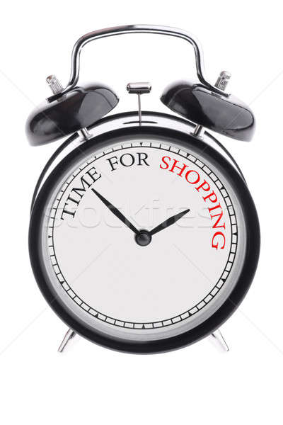 Time for shopping Stock photo © a2bb5s