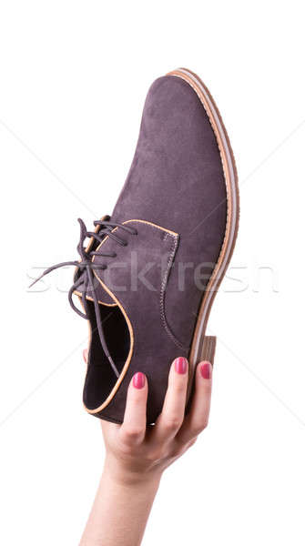 Shoes for men Stock photo © a2bb5s
