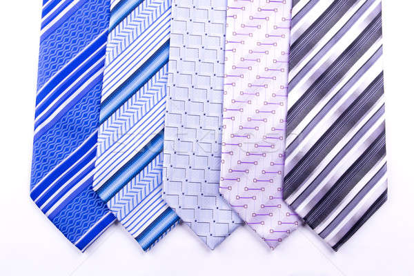 Five tie Stock photo © a2bb5s
