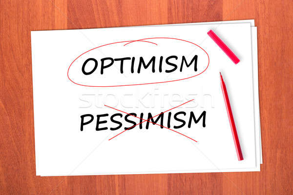 OPTIMISM Stock photo © a2bb5s