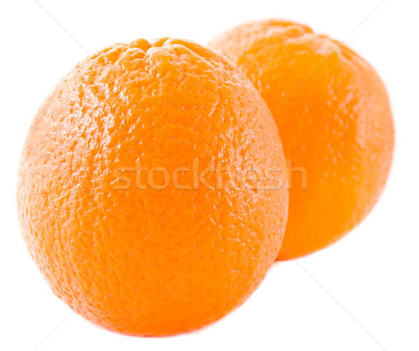 Stock photo: Two oranges