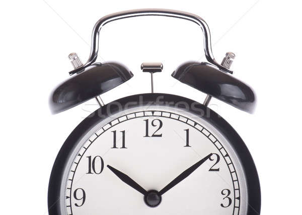 Black alarm clock Stock photo © a2bb5s