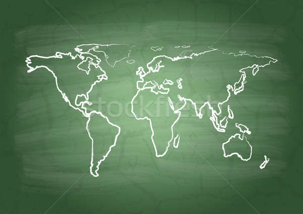 World map Stock photo © a2bb5s