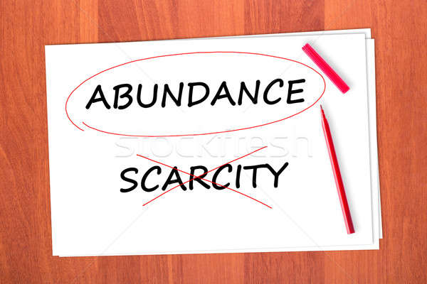 ABUNDANCE Stock photo © a2bb5s