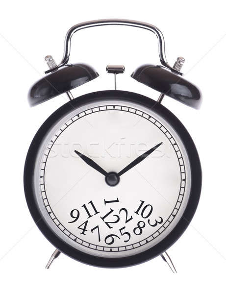 Alarm clock with a bunch of numbers on the dial Stock photo © a2bb5s