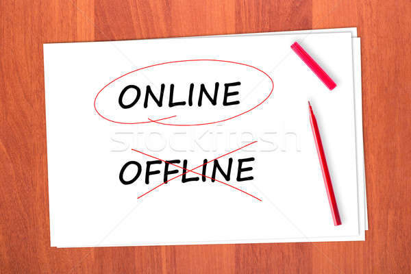 ONLINE Stock photo © a2bb5s