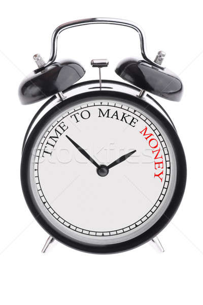 Time to make money Stock photo © a2bb5s