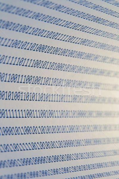Abstract binary code Stock photo © a2bb5s