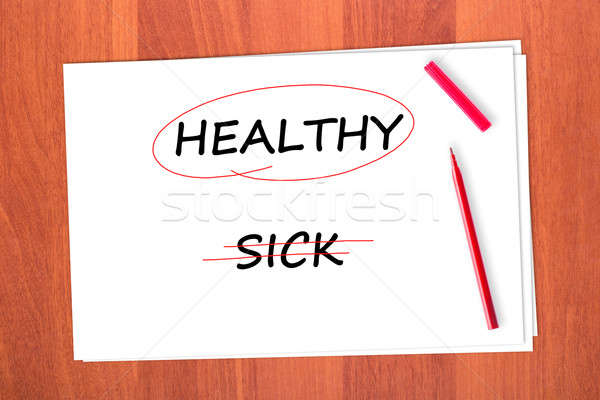 HEALTHY Stock photo © a2bb5s