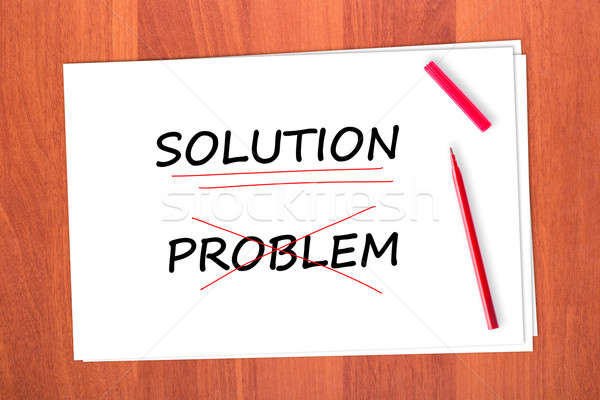 Stock photo: SOLUTION