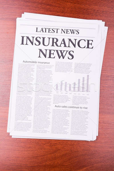 The newspaper LATEST NEWS Stock photo © a2bb5s