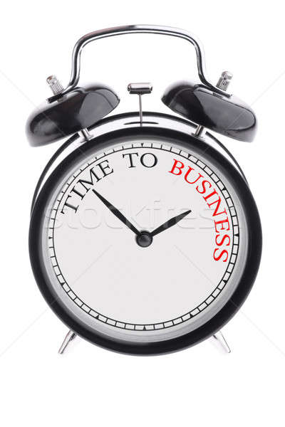 Time to business Stock photo © a2bb5s