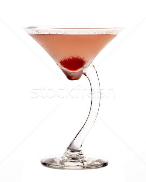 Casablanca cocktail Stock photo © ABBPhoto