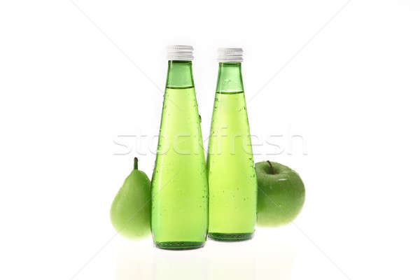 Apple and pear drink ingredients Stock photo © ABBPhoto