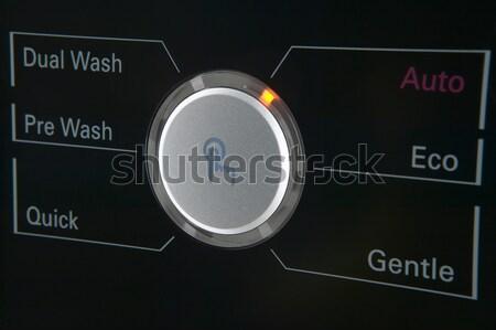 стиральная машина контроль современных таймер опции Сток-фото © ABBPhoto