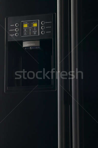 Refrigerator with frontal display  Stock photo © ABBPhoto
