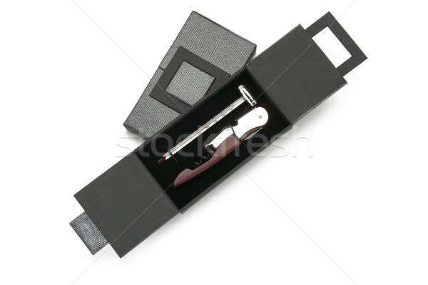 Corkscrew with thermometer Stock photo © ABBPhoto