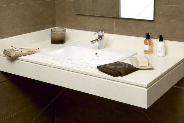мыло ванную воды дизайна домой Сток-фото © ABBPhoto