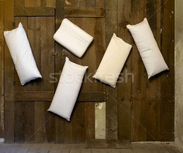 выбора различный моделях подвесной стены Сток-фото © ABBPhoto