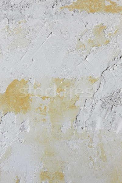 старые окрашенный штукатурка стены грубо копия пространства Сток-фото © ABBPhoto