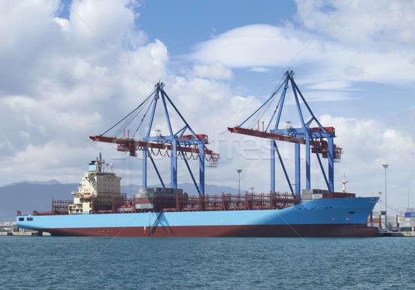 Cargo container shipment Stock photo © ABBPhoto