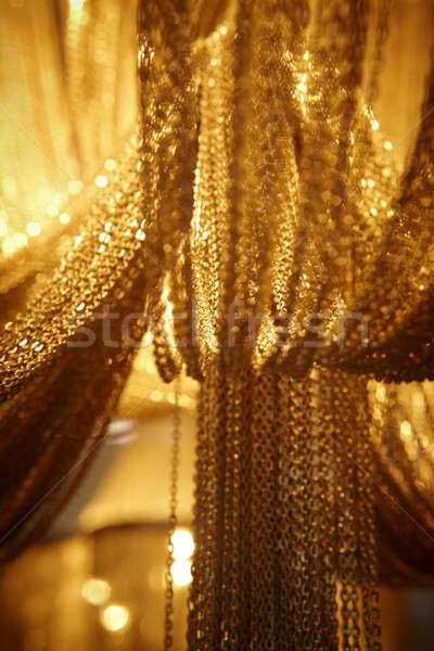 Abstract chain curtains Stock photo © ABBPhoto