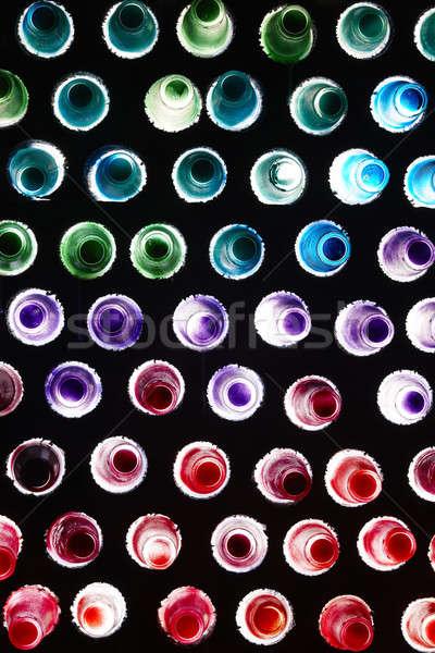 Молния цветами оборудование различный цвета очки Сток-фото © ABBPhoto