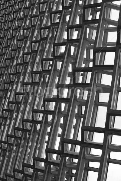Iceland. Reykjavik. Harpa Concert Hall. Facade detail. Stock photo © ABBPhoto