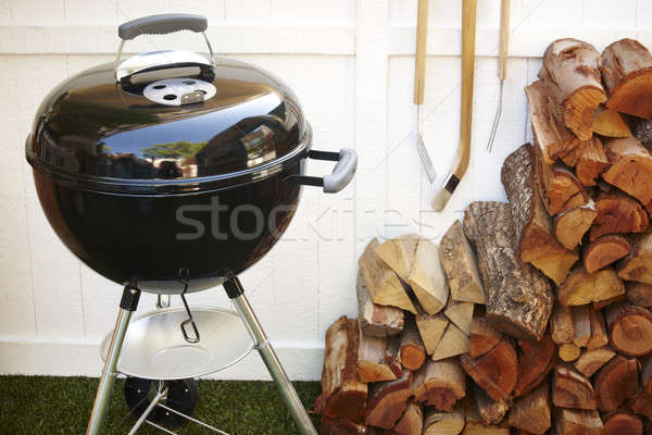 Barbecue instruments Stock photo © ABBPhoto