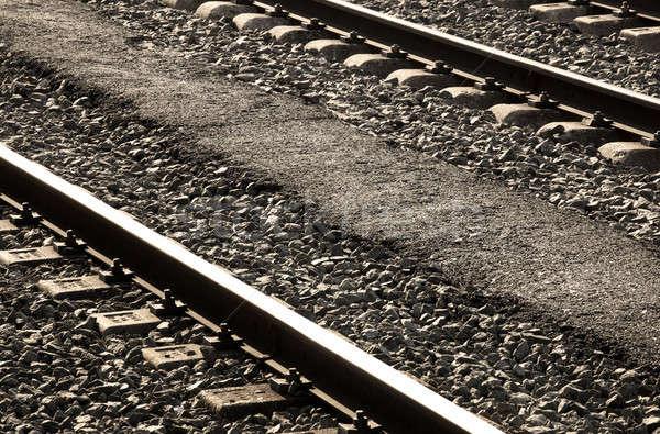 Railways Stock photo © ABBPhoto