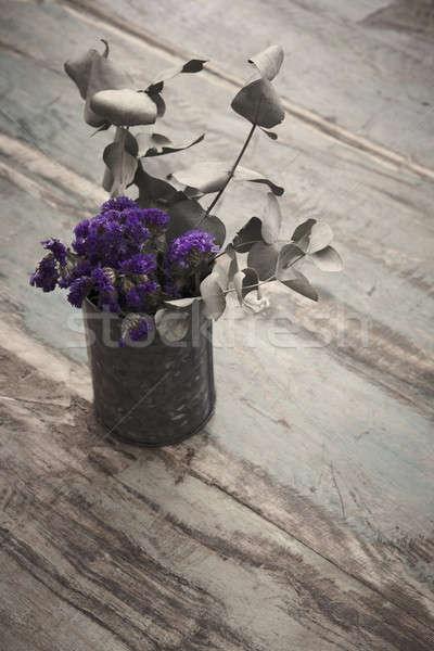 紫色 色 フローリング 花 階 ストックフォト © ABBPhoto