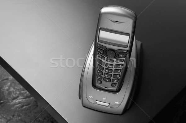 Cordless telephone Stock photo © ABBPhoto
