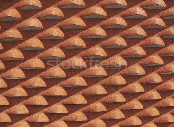 металл улице фары Тени оранжевый Сток-фото © ABBPhoto