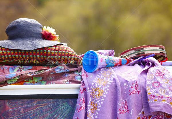 хиппи объекты крыши ван любви искусства Сток-фото © ABBPhoto