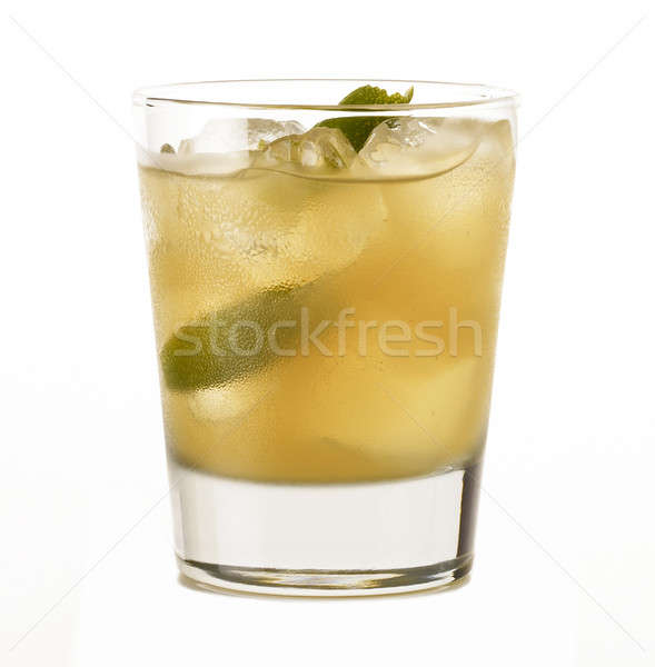 Cuban American cocktail Stock photo © ABBPhoto
