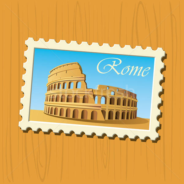 Famous Destinations - Rome Stock photo © abdulsatarid