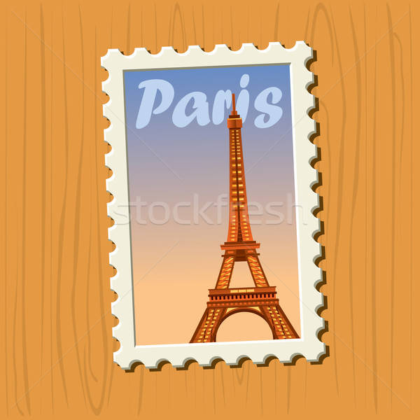 Famous Destinations - Paris Stock photo © abdulsatarid