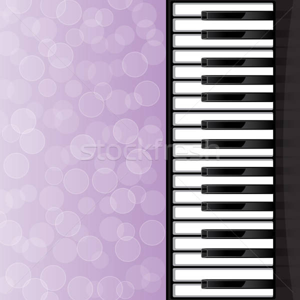 Abstract pianotoetsen eps10 ontwerp toetsenbord achtergrond Stockfoto © AbsentA