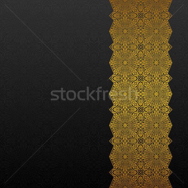 аннотация традиционный орнамент ретро обои азиатских Сток-фото © AbsentA