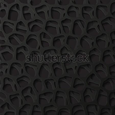 Abstract futuristische papier achtergrond retro behang Stockfoto © AbsentA