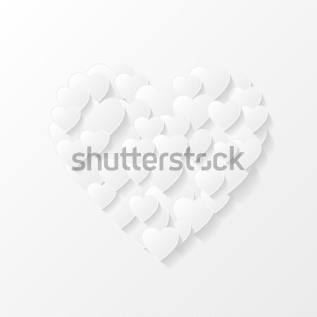 Abstract valentine background Stock photo © AbsentA