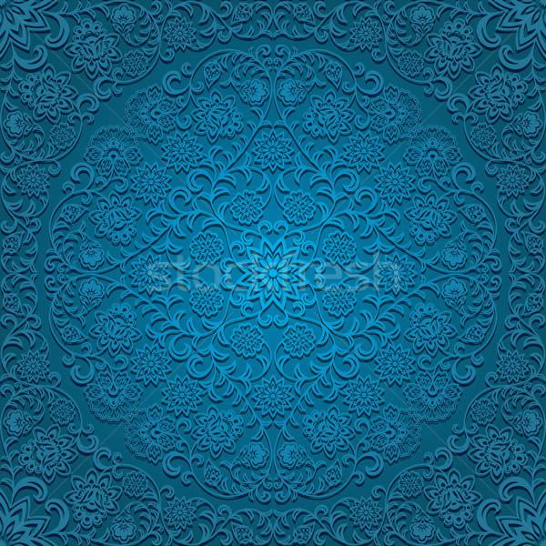 Naadloos patroon textuur achtergrond retro Stockfoto © AbsentA
