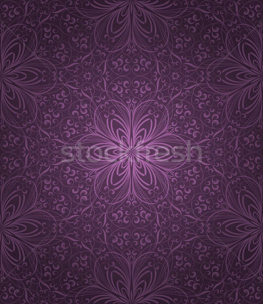 Seamless floral pattern Stock photo © AbsentA