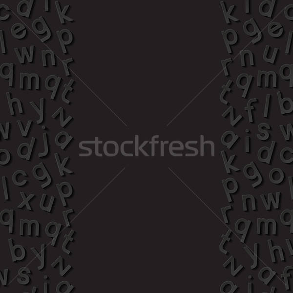 Abstract alfabet papier achtergrond brief wetenschap Stockfoto © AbsentA