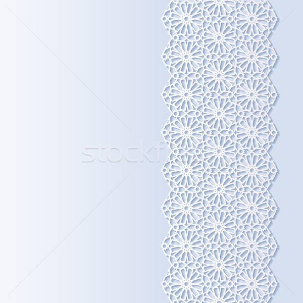 Résumé traditionnel ornement papier design asian Photo stock © AbsentA